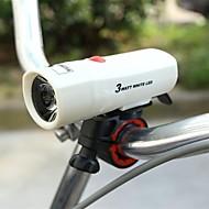 LED zseblámpák / Kerékpár első lámpa / biztonsági világítás Laser Kerékpározás csúszásmentes / multi-tool cellás akkumulátor Lumen