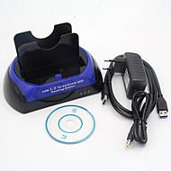"""USB 3.0 2.5 """"/ 3.5"""" SATA / IDE Multi-Funktions-Fest Basis Doppel Schnittstelle allgemeinen treiben die Stromversorgung"""