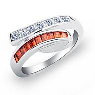 Ladies'/Kid's/Couples'/Women's Cubic Zirconia Ring Cubic Zirconia Cubic Zirconia