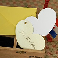 Heart-Shaped Mini Blessings Thank You Cards(14*11.5cm)