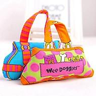Zabawka dla psa Zabawki dla zwierząt Zabawki do żucia Kreskówka Tekstylny Yellow Niebieski