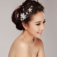 Women's Rhinestone/Alloy Headpiece - Wedding/Casual Barrette