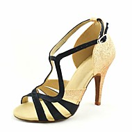 Latin Customizable Women's Sandals Satin Dance Shoes (More Colors)