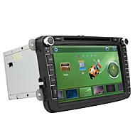Rungrace 8-inch 2 Din TFT Screen In-Dash Car DVD Player For Volkswagen With Bluetooth,Navigation GPS,RDS,ISDB-T,IPOD