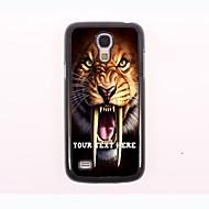 caso de telefone personalizado - tigre caso design de metal para Samsung Galaxy S4