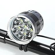 Lanternas de Cabeça Luzes de Bicicleta LED Cree XM-L T6 Ciclismo Prova-de-Água Recarregável Resistente ao Impacto Fácil de Transportar