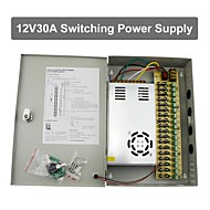 12V 30A DC 18 Power Supply Box Auto-RESET / 12V30A Power Supply / Switch Power Supply, 110/220V AC Input