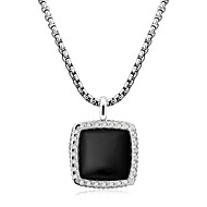 Women's Alloy Necklace Daily/Outdoor Rhinestone