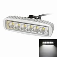 "KAWELL 18W 6.2""  LED for ATV/boat/suv/truck/car/atvs light Off Road Waterproof Led Work Spot Light Bar"