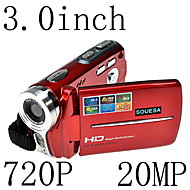HD 720P 20MP 16x Zoom DIGITAL VIDEO CAMERA CAMCORDER DV Red