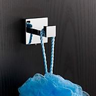 """YALI.M®,Appendi-accappatoio Cromo A muro 4.8x 4.8x 6cm (1.88x1.88 x 2.36"""") Ottone Moderno"""
