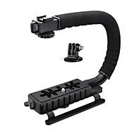 c vorm video stabilisator handvat mount kit (c vorm beugel, GoPro adapter)