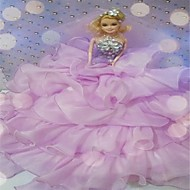 Rose Faery Nice Organza Wedding Dress Wedding Gift