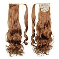 Excellent Quality Synthetic Long Curly Hair Piece 24 Inch Clip In Ponytail