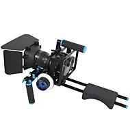 4 in1 DSLR Rig Kit 1pc Schulter-Rig 1pc Mattebox 1pc Schärfen 1pc dslr Käfig für Kameras&Video-Camcorder
