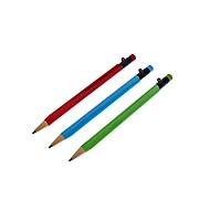 3 paquete de tinta negro lápiz automático sin afilar (colores aleatorios)