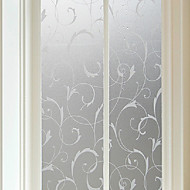 曇りガラスフィルム窓のステッカーは、グリルを貼付静電気のないプラスチック製の半透明、不透明
