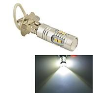 Carking™ Car Auto H3 50W 10SMD LED Fog Light Head Lamp Driving Bulb-White(12V 1PC)
