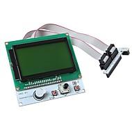 """בקר חכם מודול 3 תצוגת LCD """"lcd12864 geeetech למדפסת 3D"""
