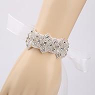 Handmade Diamond Luxury Bride Wedding Accessories Bracelet