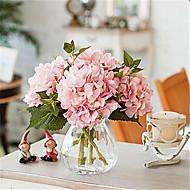 """17.7"""" Light Pink Hyfrangeas Artificial Flowers"""
