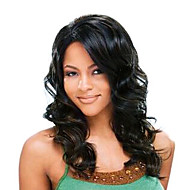 20Inch 100% Indian Human Hair Nature Wave Lace Front Wig