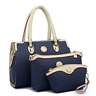 Women PU Doctor Shoulder Bag / Tote - Beige / Pink / Blue