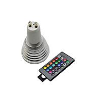 Точечные лампы ( RGB , Дистанционное управление ) - 5 W- GU10