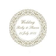 96 Stuk / Set Sticker van de Envelop Uitnodigingen van het Huwelijk