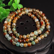 Three Round Agate Bracelet