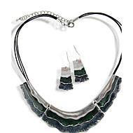 Women's Alloy/Leather Jewelry Set