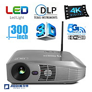 AODIN®  Android OS 3D LED Projector Home Theater and Business 3500LM 4K with VGA USB SD HDMI Input