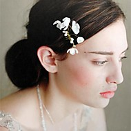 Women's Pearl/Polyester Headpiece - Wedding/Special Occasion Hair Pin/Flowers/Barrette