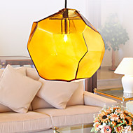 Pendant, 1 Light, Italy Style Transparent Electroplating