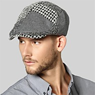 Kenmont New Autumn Winter Men Street-style Peaked Hat Outdoor Casual Fashion Ivy Cap 1450