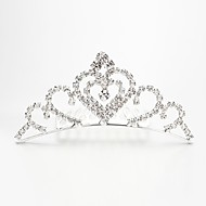 Women's/Flower Girl's Alloy/Imitation Pearl Headpiece - Wedding/Special Occasion/Outdoor Tiaras/Hair Combs