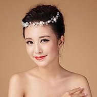 Women's/Flower Girl's Rhinestone/Imitation Pearl Headpiece - Wedding Head Chain