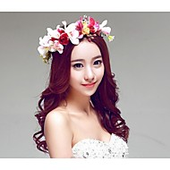 New Korean Style Bloom Bridal/Beach Honeymoom/Party Head Flowers/Headpieces/Garland