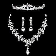 Gioielli Set Per donna Anniversario / Matrimonio / Fidanzamento / Compleanno / Regalo / Occasioni speciali Parure di gioielli Lega Strass