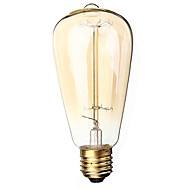 E27 40W 400lm 3000K Warm White Edison tungsten restoring ancient ways (AC220V-240V)