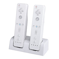 Rechargeable ABS/Plastic Charger for Nintendo Wii Remote Control