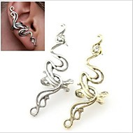 Ear Cuffs Alloy Statement Jewelry Punk Fashion Silver Bronze Jewelry Wedding Party Daily Casual 1pc
