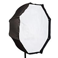 "flash doek professionele 95cm 37 ""achthoek paraplu softbox brolly reflector voor speedlite"