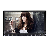 Rungrace 7-inch 2 Din TFT Screen In-Dash Car DVD Player With Bluetooth,RDS, RL-202DNAR03