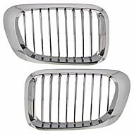 sølv krom gitter grill nyre til BMW E46 2-dørs m3 98-03