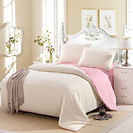 Yuxin® Cream Color Cotton Duvet Cover Sets 4 Piece Suit Comfort Simple Modern for Twin Full and Queen Bed Size