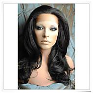 8inch-22inch el 100% pelucas del cordón remy indio onda del cuerpo del pelo humano lwbw002