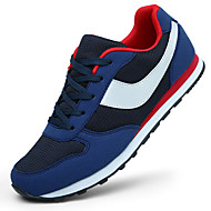 Running Shoes Men's Spring / Summer / Fall / Winter Round Toe Synthetic Lace-up Black / Blue / Navy Walking