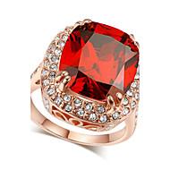 Prstýnky Křišťál / imitace Ruby / imitace Diamond Měsíční kámen Šperky Prsteny s kamenem