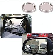 shunwei® bil 360 justerbar rotations s storlek blond vinkeln spegel (färgval)
